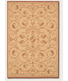 RugStudio presents Couristan Recife Veranda Natural/Terracota Machine Woven, Good Quality Area Rug