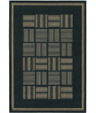 RugStudio presents Couristan Recife Bistro Black/Cocoa Machine Woven, Good Quality Area Rug