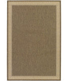 RugStudio presents Couristan Recife Wicker Stitch Cocoa/Natural Machine Woven, Good Quality Area Rug
