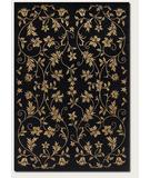 RugStudio presents Couristan Silken Treasures Elysium Midnight 1850-0181 Hand-Knotted, Better Quality Area Rug