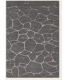 RugStudio presents Couristan Impressions Flagstone Grey/Silver Hand-Knotted, Best Quality Area Rug