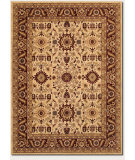 RugStudio presents Couristan Anatolia Antique Kashan Cream 2067-0009 Machine Woven, Good Quality Area Rug