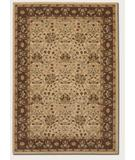 RugStudio presents Rugstudio Famous Maker 39593 Fawn-Chocolate Machine Woven, Good Quality Area Rug