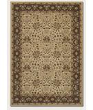 RugStudio presents Couristan Pera Birjand 2077 Latte-Chocolate 1156 Machine Woven, Good Quality Area Rug