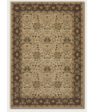RugStudio presents Couristan Pera Birjand Latte/Chocolate Machine Woven, Good Quality Area Rug