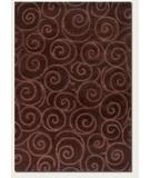 RugStudio presents Couristan Super-Indo Colors Calligraphy Chocolate 2157-0507 Area Rug