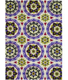 RugStudio presents Couristan Covington Astral Lavender/Raspberry Hand-Hooked Area Rug