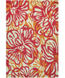 RugStudio presents Couristan Covington Hibiscus Rosebud/Honey Area Rug