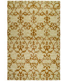 RugStudio presents Couristan Fresco Estates Sand/Citrine Hand-Hooked Area Rug