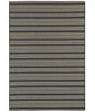 RugStudio presents Couristan Monaco Coastal Breeze Brown/Blue Machine Woven, Good Quality Area Rug