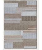 RugStudio presents Couristan Monaco Starboard Grey/Sand Area Rug