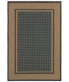 RugStudio presents Couristan Monaco Maritime Green/Sand Machine Woven, Good Quality Area Rug