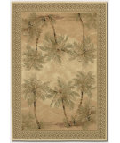 RugStudio presents Couristan Everest Palm Tree Desert Sand Machine Woven, Good Quality Area Rug