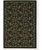 RugStudio presents Couristan Everest Royal Scroll Ebony Machine Woven, Good Quality Area Rug