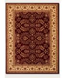 RugStudio presents Couristan Anatolia Antique Herati Red 2867-0006 Machine Woven, Good Quality Area Rug