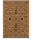 RugStudio presents Couristan Anatolia All Over Vase Antique Gold 2869-0009 Machine Woven, Good Quality Area Rug