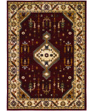 RugStudio presents Couristan Anatolia Tribal Diamond Red/Cream Machine Woven, Good Quality Area Rug