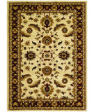 RugStudio presents Couristan Anatolia Floral Heriz Cream/Red Machine Woven, Good Quality Area Rug