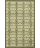 RugStudio presents Couristan 5 Seasons Delray Cream/Sky Blue Flat-Woven Area Rug