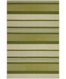 RugStudio presents Couristan Five Seasons Santa Barbara Green/Cream Flat-Woven Area Rug