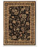 RugStudio presents Couristan Chobi Plumage Midnight 3344-0098 Hand-Knotted, Best Quality Area Rug