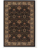 RugStudio presents Couristan Everest Herati Palm Midnight Woven Area Rug