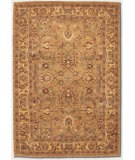 RugStudio presents Couristan Chobi Floral Bijar Camel 3395/0022 Hand-Knotted, Best Quality Area Rug