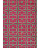 RugStudio presents Couristan Bowery Havemeyer Crimson/Brown Area Rug