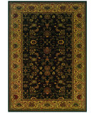 RugStudio presents Couristan Everest Tabriz Midnight 3773-4876 Woven Area Rug