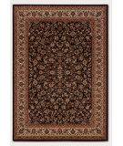 RugStudio presents Couristan Everest Isfahan Black X Machine Woven, Better Quality Area Rug