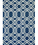 RugStudio presents Couristan Covington Ariatta Navy Hand-Hooked Area Rug
