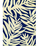 RugStudio presents Couristan Covington Palms Navy Area Rug