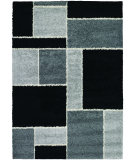RugStudio presents Couristan Moonwalk Stonewall Black Area Rug