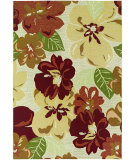 RugStudio presents Couristan Dolce Novella Rose Bud Machine Woven, Good Quality Area Rug