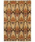 RugStudio presents Couristan Sierra Vista Tucson Beige/Brown Hand-Tufted, Good Quality Area Rug