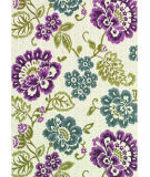 RugStudio presents Couristan Dolce Tivoli Ivory/Multi Flat-Woven Area Rug