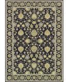 RugStudio presents Couristan Dolce Pompano Black/Beige Flat-Woven Area Rug
