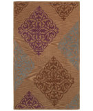 RugStudio presents Couristan Ambrosia Diamond Motif Amber/Multi Machine Woven, Good Quality Area Rug