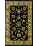 RugStudio presents Couristan Castello Tudor Black Hand-Tufted, Good Quality Area Rug