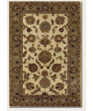 RugStudio presents Couristan Castello Tudor Creme Hand-Tufted, Good Quality Area Rug