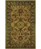 RugStudio presents Couristan Castello Guinevere Latte/Jade Hand-Tufted, Good Quality Area Rug