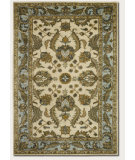 RugStudio presents Couristan Castello Devon Ivory/Sky Blue Woven Area Rug