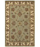 RugStudio presents Couristan Castello Ellington Sage/Beige Hand-Tufted, Good Quality Area Rug