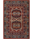 RugStudio presents Couristan Timeless Treasures Maharaja Burgundy Machine Woven, Good Quality Area Rug