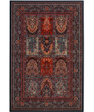 RugStudio presents Couristan Timeless Treasures Vintage Baktia Ebony Machine Woven, Good Quality Area Rug