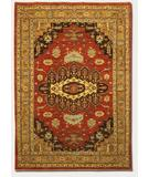 RugStudio presents Couristan Chobi Heriz Rust 4434-3444 Hand-Knotted, Best Quality Area Rug