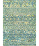 RugStudio presents Couristan Elegance Ophelia Azure/Tan Woven Area Rug