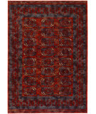 RugStudio presents Couristan Timeless Treasures Afghan Panel Rust Machine Woven, Good Quality Area Rug