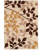RugStudio presents Couristan Ambrosia Royal Empress Ivory/Chocolate Machine Woven, Good Quality Area Rug