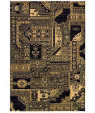 RugStudio presents Couristan Cadence Moonlight Sonata Cream/Navy Machine Woven, Better Quality Area Rug